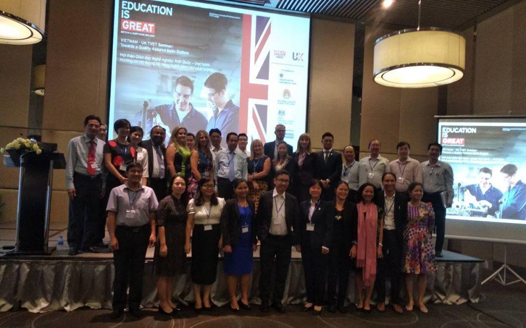 TQUK《越南 – 英國TVET研討會:邁向質量保證技能體系》