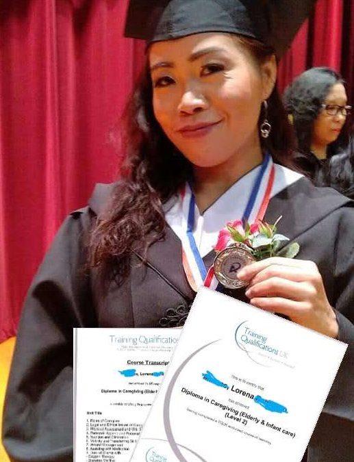 [成功故事]Lorena Marcos – TQUK認可課程畢業生