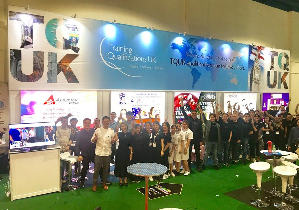 "TQUK Pavilion at Malaysia's ""Education & Further Studies Fair"""